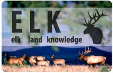 Title slide for Elk Land Knowledge
