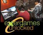 Image of kids playing exergames