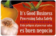 It's Good Business: Processing Salsa Safely