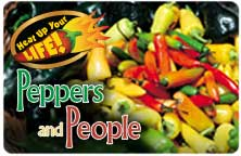 Heat Up Your Life: Peppers and People