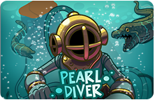 Image of the Pearl Diver icon with a diving helmet.