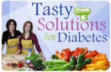 Image of the title slide for Tasty Solutions for Diabetes